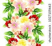 abstract elegance seamless... | Shutterstock .eps vector #1027105663