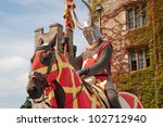 Knight In Armor Outside Hever...