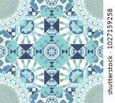 Seamless Pattern From Mandalas...