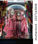 Small photo of This image is click at krishna Temple lord Krishna and Radha