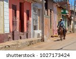 trinidad  cuba   april 26  2016 ... | Shutterstock . vector #1027173424