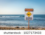 a warning sign indicating...   Shutterstock . vector #1027173433