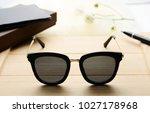 sunglasses eyewear photography  | Shutterstock . vector #1027178968