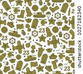 seamless vector pattern of... | Shutterstock .eps vector #1027182340