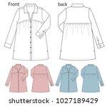 vector illustration of shirt... | Shutterstock .eps vector #1027189429