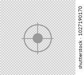 target vector icon eps 10.... | Shutterstock .eps vector #1027190170