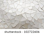 background created by a mosaic... | Shutterstock . vector #102722606