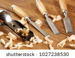 diy concept. woodworking and...   Shutterstock . vector #1027238530