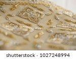 handmade thai wedding dress.... | Shutterstock . vector #1027248994
