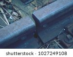 gap with nut and screw on the... | Shutterstock . vector #1027249108