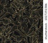beautiful  seamless pattern...   Shutterstock .eps vector #1027251586