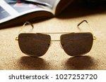 eyewear sun glasses photography  | Shutterstock . vector #1027252720