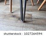 close up of eiffel chair legs... | Shutterstock . vector #1027264594