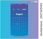 calendar app ui ux design