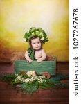 little  very beautiful girl ...   Shutterstock . vector #1027267678
