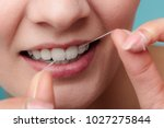 oral hygiene and health care.... | Shutterstock . vector #1027275844