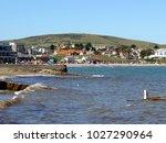 swanage  dorset  uk. september... | Shutterstock . vector #1027290964