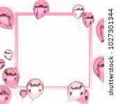 light pink and white metallic... | Shutterstock . vector #1027301344