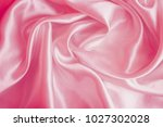 pink luxury satin fabric... | Shutterstock . vector #1027302028