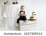 the first birthday of the child.... | Shutterstock . vector #1027309513