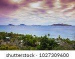 amazing sea  beach and seascape ... | Shutterstock . vector #1027309600