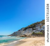 colorful panorama of clifton... | Shutterstock . vector #1027311838