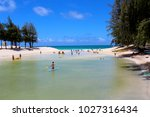 go to the beach | Shutterstock . vector #1027316434