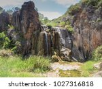 quinninup falls  leeuwin... | Shutterstock . vector #1027316818