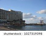 beautiful alexandria  egypt  ... | Shutterstock . vector #1027319398