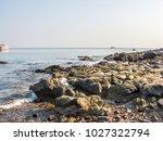 rocks on the beach  rocks in... | Shutterstock . vector #1027322794