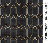 seamless geometric pattern. art ... | Shutterstock . vector #1027323880