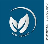 natural friendly vector design... | Shutterstock .eps vector #1027324540