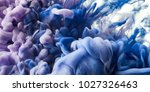 ink in water background | Shutterstock . vector #1027326463