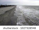folly beach south carolina ... | Shutterstock . vector #1027328548