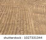 sand beach sea | Shutterstock . vector #1027331344