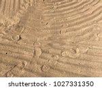 sand beach sea | Shutterstock . vector #1027331350