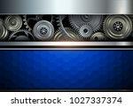 background metallic with...   Shutterstock .eps vector #1027337374