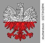 poland eagle in national white  ...   Shutterstock .eps vector #1027342894