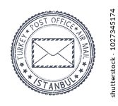 black stamp with istanbul ... | Shutterstock . vector #1027345174