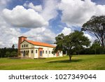 church our lady of health brasil | Shutterstock . vector #1027349044
