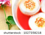 soothing drink made from... | Shutterstock . vector #1027358218