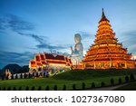Chiang Rai  Thailand. Wat Huai...