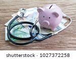 financial health check or eu... | Shutterstock . vector #1027372258