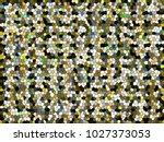 abstract texture   retro mosaic ... | Shutterstock . vector #1027373053