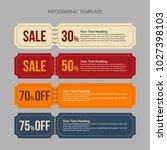 infographics design template    Shutterstock .eps vector #1027398103