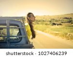 freedom on the road | Shutterstock . vector #1027406239
