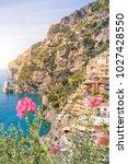 positano  amalfi coast ...   Shutterstock . vector #1027428550