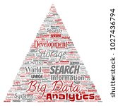 vector conceptual big data...   Shutterstock .eps vector #1027436794