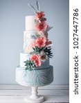 beautiful home wedding four... | Shutterstock . vector #1027447786