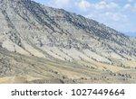 red lodge  montana  usa. rugged ...   Shutterstock . vector #1027449664